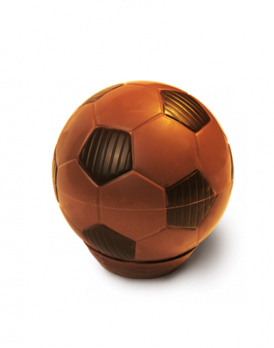 Fußball aus Schokolade – passt nicht nur zur Weltmeisterschaft 2018