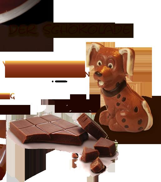 Schokoladenfiguren-Produktion